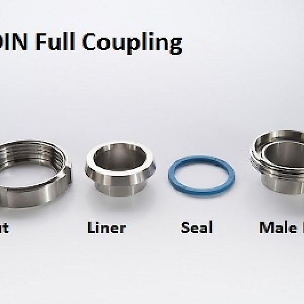 Din Unions for Metric Tube