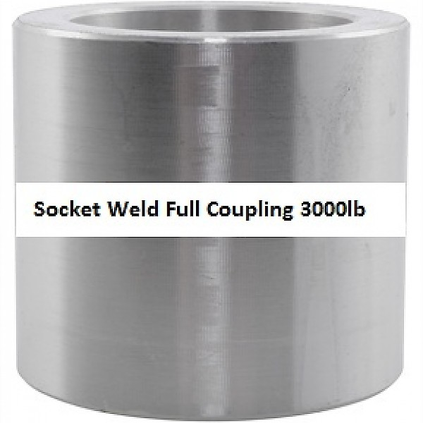Socket Weld Full Coupling 3000lb